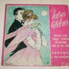 Discos de vinilo: VALSES CÉLEBRES *** SINGLE VINILO MUSICA *** DISCOPHON (1962). Lote 117560343