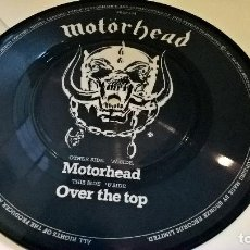 Discos de vinilo: MUSICA SINGLE HEAVY: MOTORHEAD - OVER THE TOP PICTURE COLECCION LEMMY JL. Lote 117563883