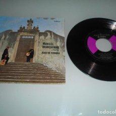 Discos de vinilo: MANUEL BRANQUINHO CANTA FADOS DE COIMBRA - EP. Lote 117575523