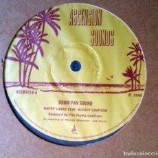 Discos de vinilo: HAPPY LARRY FEAT. MICKEY SIMPSON – DRUM PAN SOUND 2000 DEEP HOUSE, DOWNTEMPO, DUB . Lote 117606079