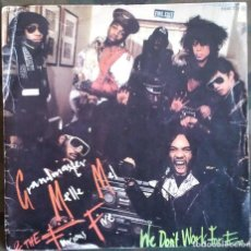 Dischi in vinile: GRANDMASTER MELLE MEL & THE FURIOUS FIVE – WE DON'T WORK FOR FREE SUGAR HILL 1984 HIP HOP . Lote 117607503
