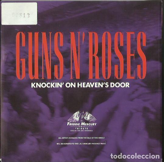 GUNS N´ROSES. SINGLE. SELLO GEFFEN. EDITADO EN ALEMANIA (Música - Discos - Singles Vinilo - Pop - Rock - Extranjero de los 70)