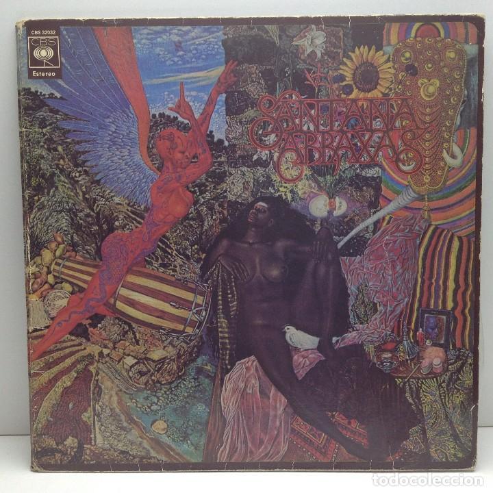 SANTANA - ABRAXAS - LP VINILO - EDICIÓN ESPAÑOLA 1970 (Música - Discos de Vinilo - Maxi Singles - Pop - Rock Extranjero de los 70)