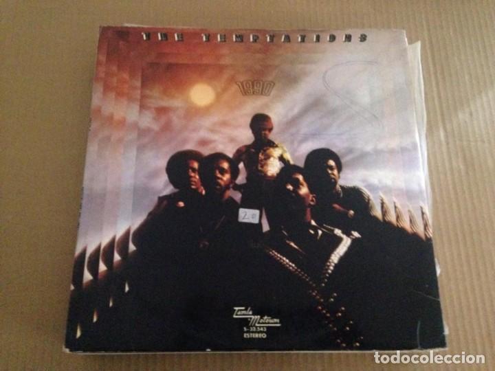 THE TEMPTATIONS - 1990 SOUL FUNK (Música - Discos - LP Vinilo - Funk, Soul y Black Music)