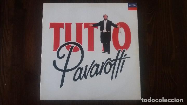 TUTTO PAVAROTTI, 2 VINILOS. MUY BUEN ESTADO (Música - Discos de Vinilo - EPs - Clásica, Ópera, Zarzuela y Marchas)