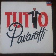 Discos de vinilo: TUTTO PAVAROTTI, 2 VINILOS. MUY BUEN ESTADO. Lote 117634903