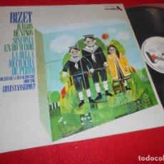 Discos de vinilo: ORQ.DE LA SUISSE ROMANDE DIR.ERNEST ANSERMET BIZET LP 1970 ACE OF DIAMONDS SPAIN ESPAÑA. Lote 117637367