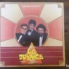 Discos de vinilo: LP- LA TRINCA - ¿QUESQUESE SE MERDE?. Lote 117639431