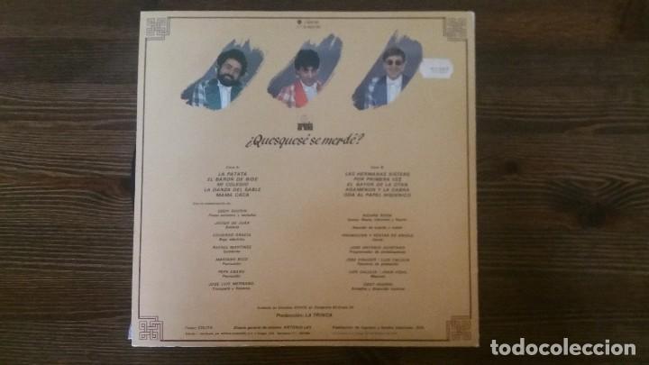 Discos de vinilo: LP- LA TRINCA - ¿Quesquese se merde? - Foto 2 - 117639431