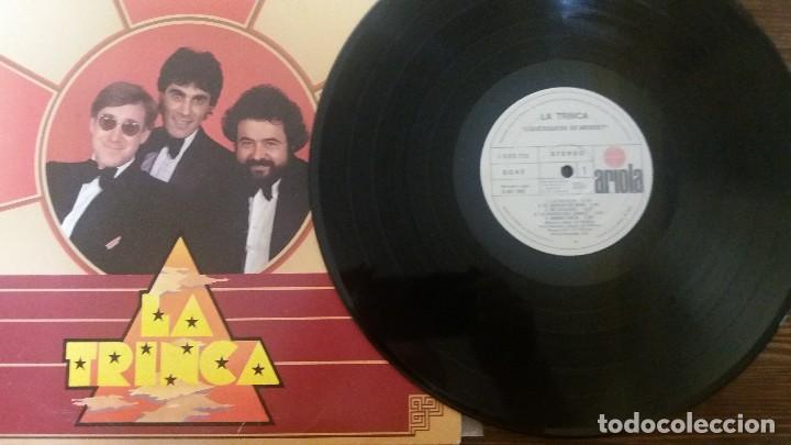 Discos de vinilo: LP- LA TRINCA - ¿Quesquese se merde? - Foto 3 - 117639431