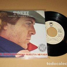 Discos de vinilo: UMBERTO TOZZI - ALELUYA / GLORIA - EP PROMO - 1979. Lote 117643195