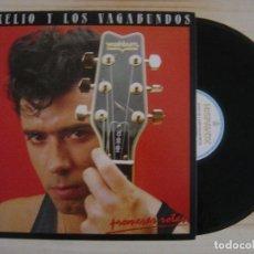 Discos de vinilo: AURELIO Y LOS VAGABUNDOS - PROMESAS ROTAS - LP C/ ENCARTE - 1987 HISPAVOX. Lote 117645819