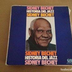 Discos de vinilo: SIDNEY BECHET -- SIDNEY BECHET -JAZZ . Lote 117646359