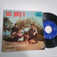 Discos de vinilo: EP-LOS JOLLY´S-MIRZA-1968-SPAIN-. Lote 117651263