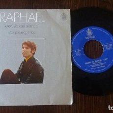 Discos de vinilo: RAPHAEL ALELUYA DEL SILENCIO/ LOS PELEGRINITOS . Lote 117652435