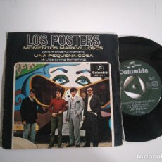 Discos de vinilo: SINGLE-LOS POSTERS-MOMENTOS MARAVILLOSOS-1967-SPAIN-. Lote 117655651