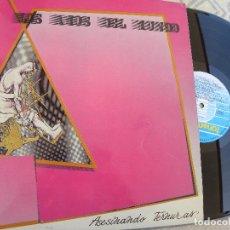 Discos de vinilo: LOS AMOS DEL MUNDO -ASESINANDO TERNURAS -LP 1987 -BUEN ESTADO. Lote 117660911