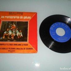 Discos de vinilo: X- LOS MANZANEROS DE GELUES - EP 1973 LA AMAPOLA Y EL TRIGO + PLEGARIA A NTRA. SRA. DE ESCARDIEL + 2. Lote 117668583