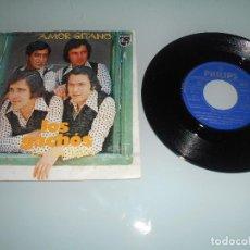 Discos de vinilo: LOS GACHÓS - SINGLE 1976 - AMOR GITANO. Lote 117669383