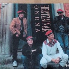 Discos de vinilo: HERTZAINAK ONENA LP BILDUMA CON LETRAS ¡¡NUEVO¡¡ 1991. Lote 117671663