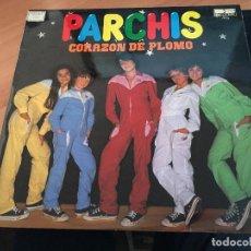 Discos de vinilo: PARCHIS (CORAZON DE PLOMO) LP ESPAÑA 1981 (VIN-X). Lote 117679467