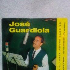 Discos de vinilo: JOSE GUARDIOLA * CHARIOT - ESTA NOCHE PAGO YO....*. Lote 117682003