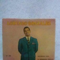 Discos de vinilo: LORENZO GONZALEZ * MOLIENDO CAFE - CALCUTA....*. Lote 117682683