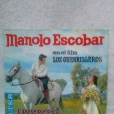 Discos de vinilo: MANOLO ESCOBAR * LOS GUERRILLEROS *. Lote 117683379