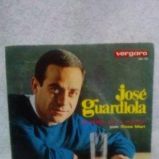 Discos de vinilo: JOSE GUARDIOLA *EL ANGEL DE LA GUARDA,CON ROSA MARI*. Lote 117685039