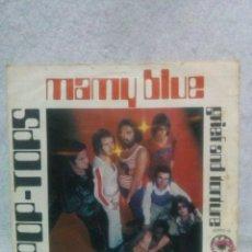 Discos de vinilo: POP-TOPS *GRIEF AND TORTURE...MAMY BLUE* 1971.. Lote 117686363