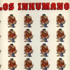 Vinyl records - LOS INHUMANOS - 30 HOMBRES SOLOS - 117711219