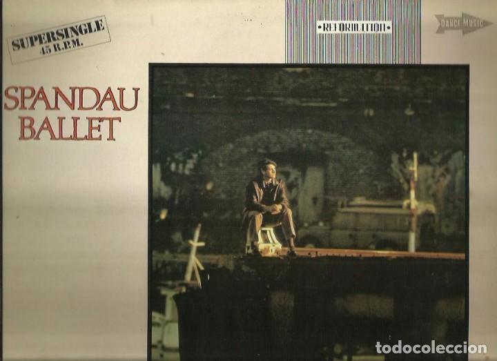 SPANDAU BALLET. MAXI-SINGLE. PROMOCIONAL. SELLO CHRYSALIS. EDITADO EN ESPAÑA. AÑO 1982 (Música - Discos de Vinilo - Maxi Singles - Pop - Rock Extranjero de los 70)