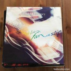 Discos de vinilo: PAUL MCCARTNEY - TRIPPING THE LIFE FANTASTIC - LP TRIPLE PARLOPHONE SPAIN 1990 - CON LIBRETO. Lote 117727511