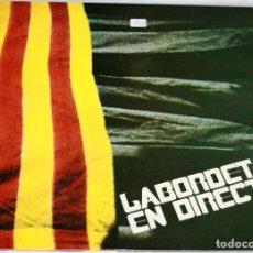 Discos de vinilo: LABORDETA EN DIRECTO LP 1986 FONOMUSIC ARAGON CARPETA ABIERTA GATEFOLD. Lote 117729555
