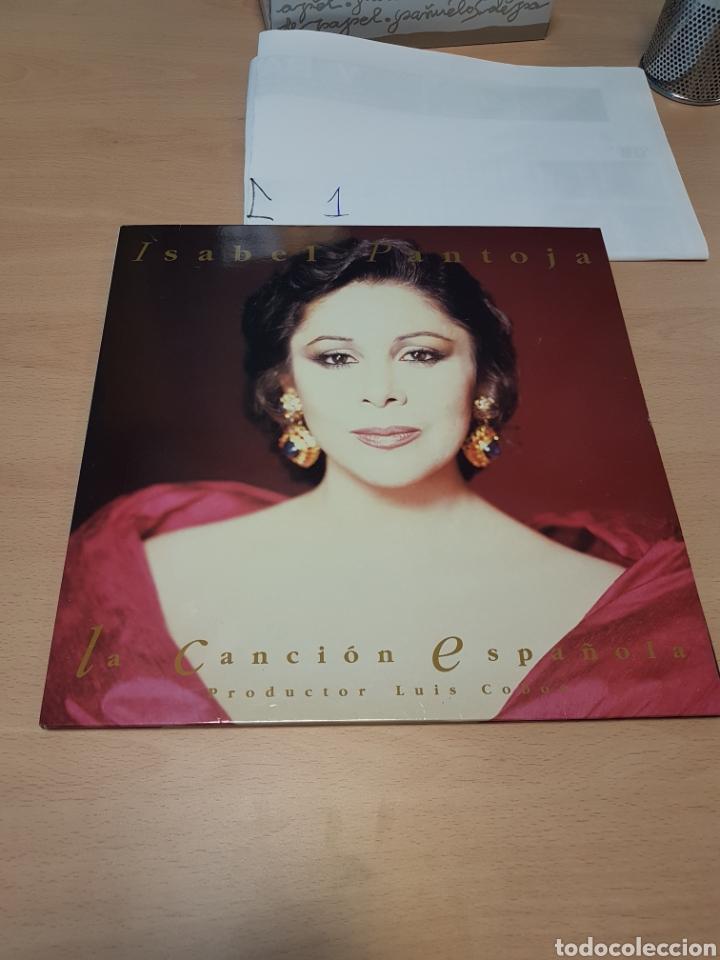 ISABEL PANTOJA - LA CANCIÓN ESPAÑOLA POR LUIS COBOS 1990 RCA (Música - Discos - LP Vinilo - Flamenco, Canción española y Cuplé)