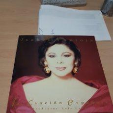 Discos de vinilo: ISABEL PANTOJA - LA CANCIÓN ESPAÑOLA POR LUIS COBOS 1990 RCA. Lote 117753915