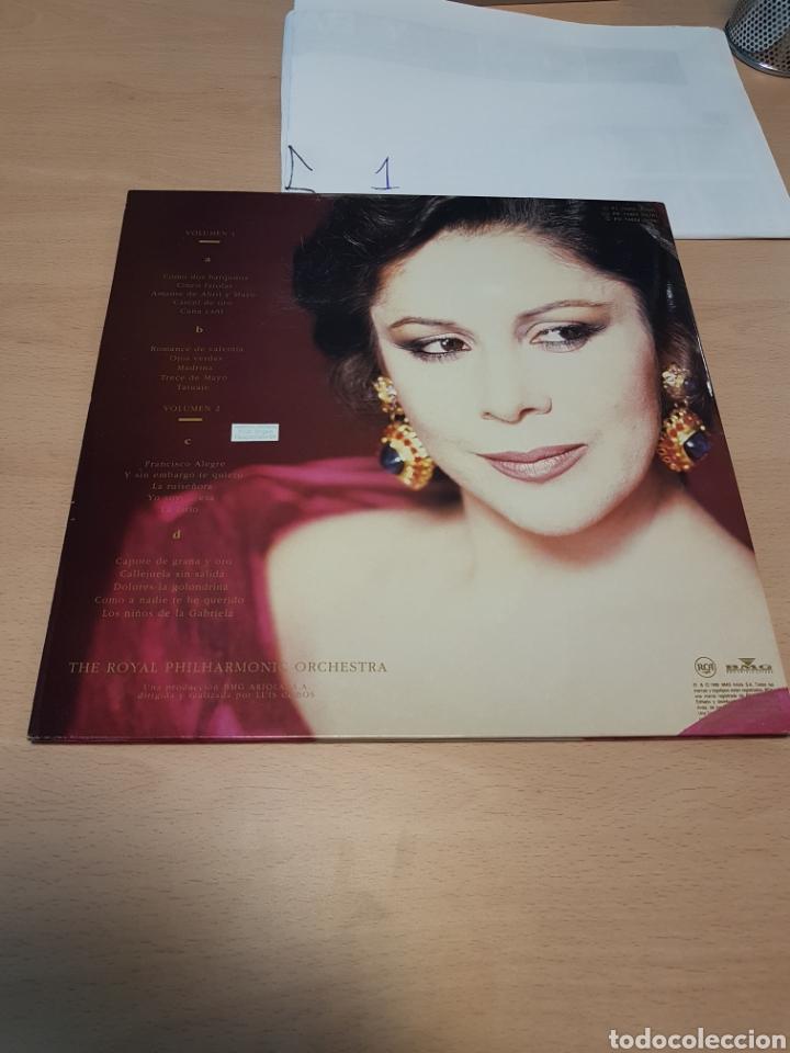 Discos de vinilo: Isabel Pantoja - La Canción Española por Luis Cobos 1990 RCA - Foto 2 - 117753915