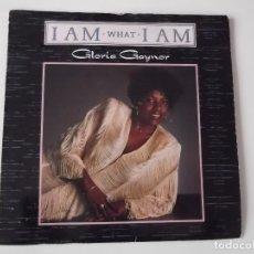Discos de vinilo: GLORIA GAYNOR - I AM WHAT I AM. Lote 117761527