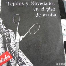 Discos de vinilo: RETALES -TEJIDOS Y NOVEDADES EN EL PISO DE ARRIBA -LP 1990 -BUEN ESTADO. Lote 117764259
