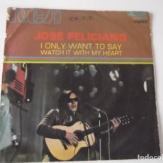 Discos de vinilo: JOSE FELICIANO - I ONLY WANT TO SAY. Lote 117765527
