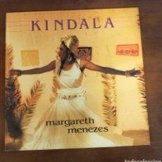 Discos de vinilo: KINDALA. MARGARETH MENEZES. DISCO DE VINILO. Lote 117772628