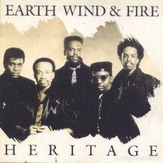 Discos de vinilo: EARTH, WIND & FIRE – HERITAGE (ED.: ESPAÑA, 1990). Lote 117780699