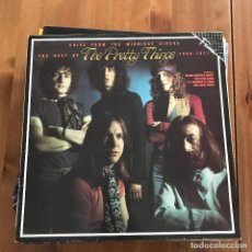 Discos de vinilo: PRETTY THINGS - CRIES FROM THE MIDNIGHT CIRCUS - BEST OF 1968-1971 - LP HARVEST FAMA 1986. Lote 117799103