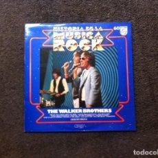 Discos de vinilo: HISTORIA DE LA MÚSICA ROCK (THE WALKER BROTHERS) Nº 60. BUENA CONSERVACIÓN. Lote 117816571