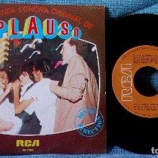 Discos de vinilo: ALFONSO SANTISTEBAN - NUEVA BANDA SONORA ORIGINAL DE APLAUSO - SINGLE - RCA PB-7704 - AÑO 1980. Lote 117819463