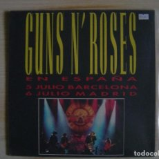 Discos de vinilo: GUNS N´ ROSES - CIVIL WAR - MAXISINGLE 45 - ESPAÑOL 1993 - GEFFEN. Lote 117825667