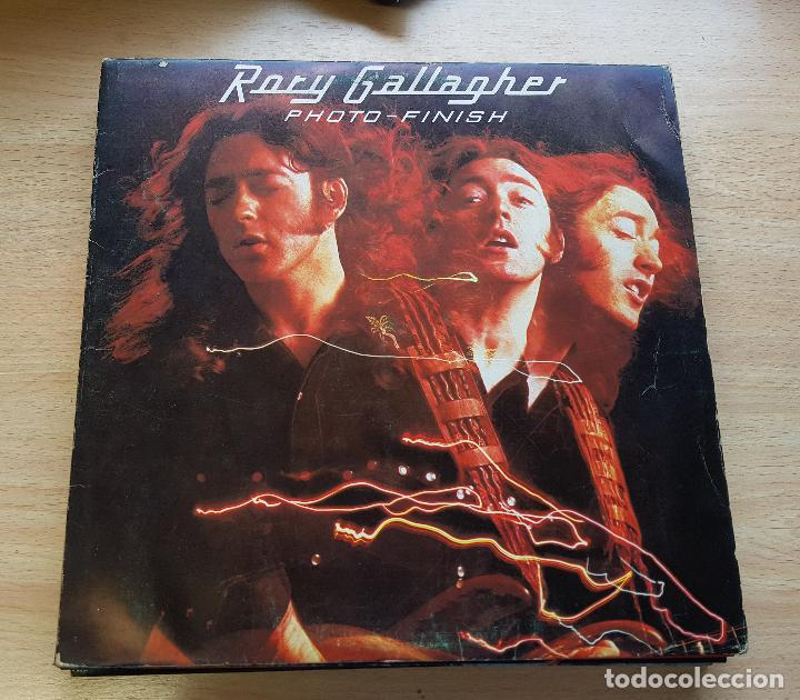 RORY GALLAGHER. PHOTO FINISH -1979 (Música - Discos de Vinilo - Maxi Singles - Jazz, Jazz-Rock, Blues y R&B)