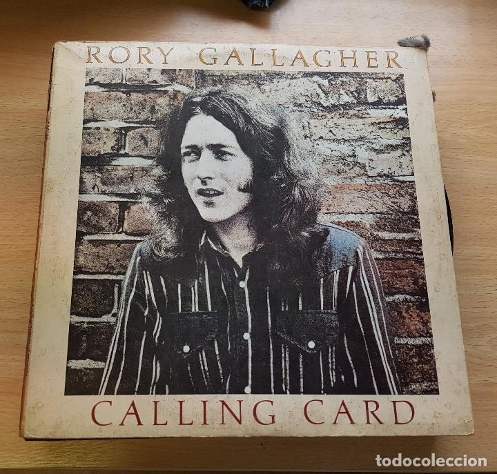 RORY GALLAGHER. CALLING CARD -1976 (Música - Discos de Vinilo - Maxi Singles - Jazz, Jazz-Rock, Blues y R&B)