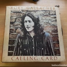 Discos de vinilo: RORY GALLAGHER. CALLING CARD -1976. Lote 117828843