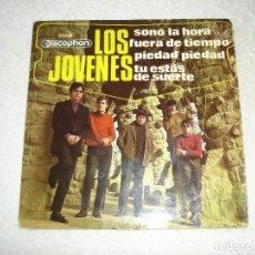 Discos de vinilo: LOS JOVENES: PIEDAD, PIEDAD + 3 - EP. DISCOPHON 1967. Lote 153901764